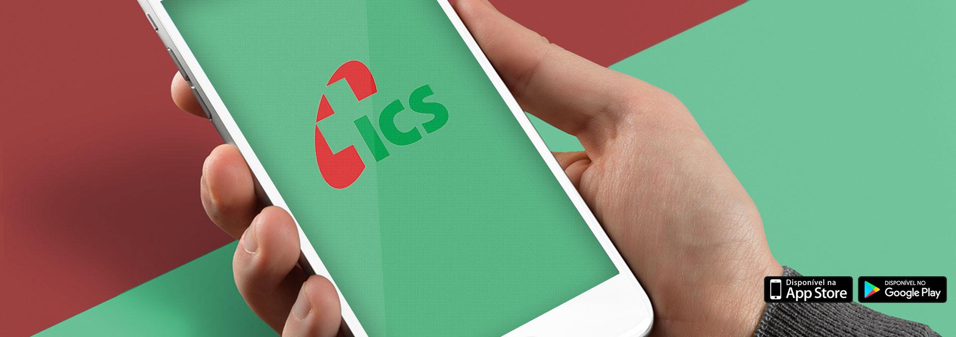 Baixe o aplicativo do ICS