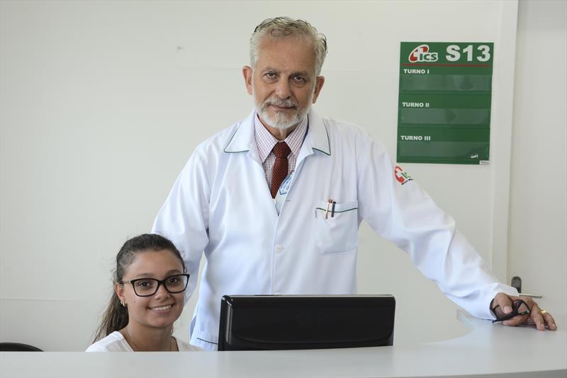Campanha Março Lilás. Na imagem, Dr. Omar barghouthi no Núcleo de Atenção à Saúde (NAS) do ICS. Foto: Levy Ferreira/SMCS