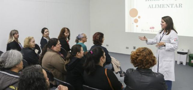 palestra ICS de alimentação saudável
