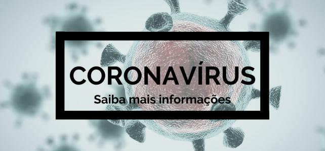 Orientações Coronavírus (COVID-19)