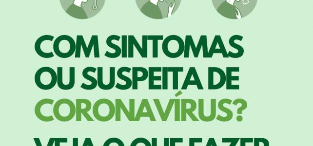 Suspeita de Coronavírus