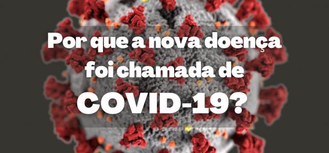 Por que Covid-19?
